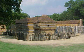 Newly Reconstructed Fort Massac